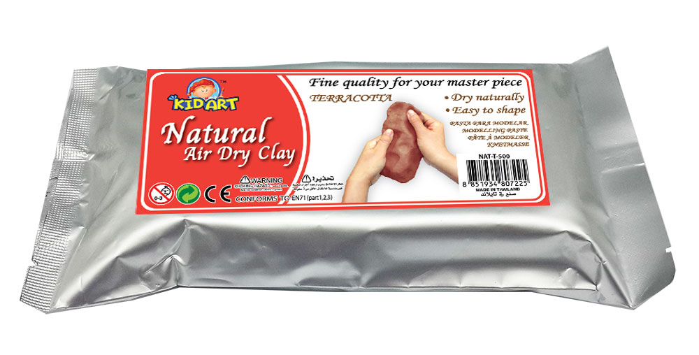 Natural Clay Bar 500g - Terracotta